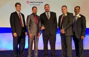 Egan Named Diamond Distributor for Notifier by Honeywell - Egan