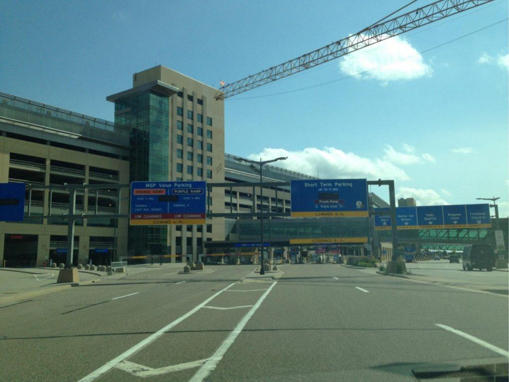 minneapolis-st  paul international airport - terminal 2