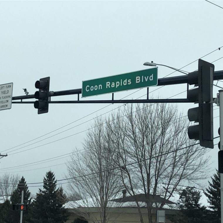 Coon Rapids Boulevard Reconstruction