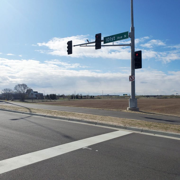 Highway 169 and 101st Avenue